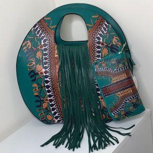Handbags - Gorgeous teal green tote